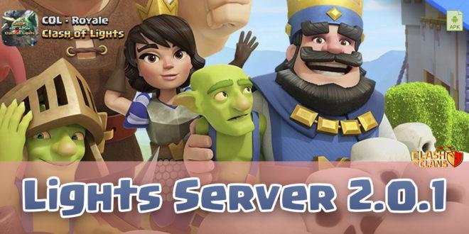 Server Lights - Сервер Clash Royale